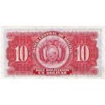 1928 - Bolivia P130 billete de 10 Bolivianos