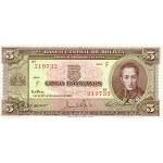 1945 - Bolivia P138 billete de 5 Bolivianos