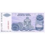 1993 - Bosnia Herzegovina PIC 152   1.000.000 Dinara banknote