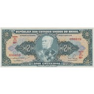 1958 - Brazil P157Aa 2 Cruceiros banknote