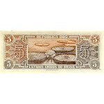 1962 - Brazil P166b 5 Cruceiros banknote