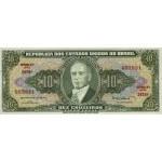 1964 - Brazil P176d 5 Cruceiros banknote