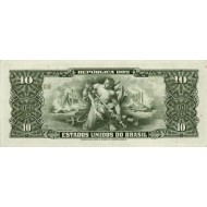 1962 - Brazil P176a  5 Cruceiros  banknote