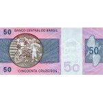 1980 - Brazil P194c 50 Cruceiros  banknote