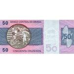 1980 - Brasil P194c billete de 50 Cruceiros