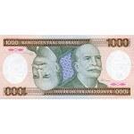 1986 - Brazil P201d 1,000 Cruceiros banknote