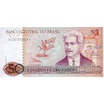 1986 - Brasil P210a billete de 50 Cruzados