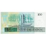 1987 - Brazil P211b 100 Cruzados banknote