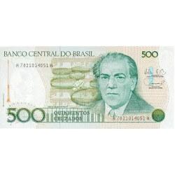1987 - Brazil P212c 500 Cruzados banknote