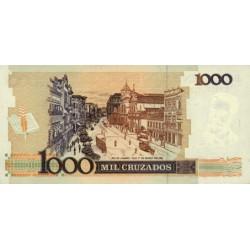 1988 - Brazil P213b 1,000 Cruzados  banknote