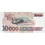 1993 - Brasil P233c billete de 10.000 Cruceiros