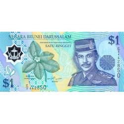 1996 -  Brunei PIC 22    1 Ringgit banknote