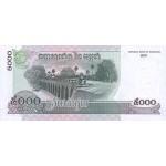 2001 -  Camboya pic 53  billete de 100 Riel