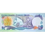 1996 - Caimán Islas 16b billete de 1 Dólar