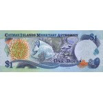 2003 - Cayman Islands P30a 1 Dollar banknote