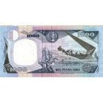 1990 - Colombia P432 1,000 Pesos Oro banknote