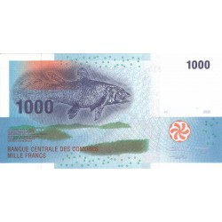 2005 - Comoros Pic 16  1000 Francs banknote