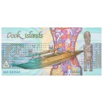 1987 - Cook Islands P3  3 Dollars banknote