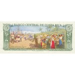 1990 - Costa Rica P236e billete de 5 Colones