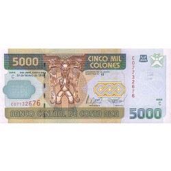 1999 - Costa Rica P268 5,000 Colones banknote