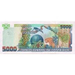 1999 - Costa Rica P268 billete de 5.000 Colones