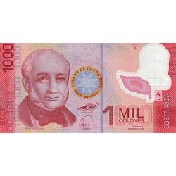 2009 - Costa Rica P274 1,000 Colones banknote