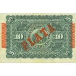 1896 - Cuba Pic 49d   billete de  10 Pesos