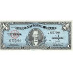 1949 - Cuba P77a billete de 1 Peso (EBC)