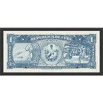 1956 - Cuba P87a billete de 1 Peso