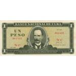 1972 - Cuba P102a 1 Peso  banknote