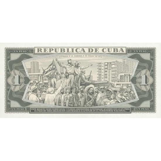 1979 - Cuba Pic 102b 1 Peso banknote