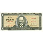 1986 - Cuba P102c 1 Peso banknote