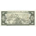 1986 - Cuba P102c billete de 1 Peso