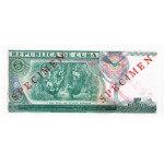 1991 - Cuba P108s 5 Pesos Specimen banknote