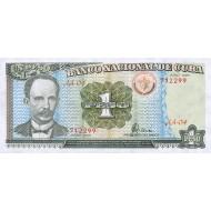 1995 - Cuba P112 1 Peso  banknote