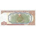 1995 - Cuba P113 billete de 3 Pesos
