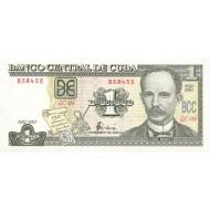 2003 - Cuba P125 1 Peso  banknote