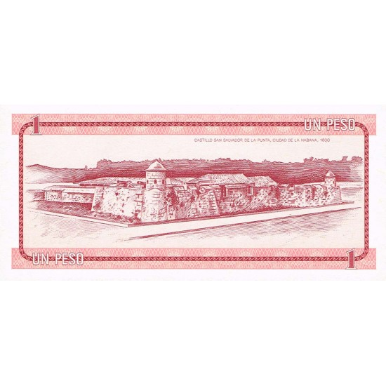 1985 - Cuba P-FX19 billete de 1 Peso