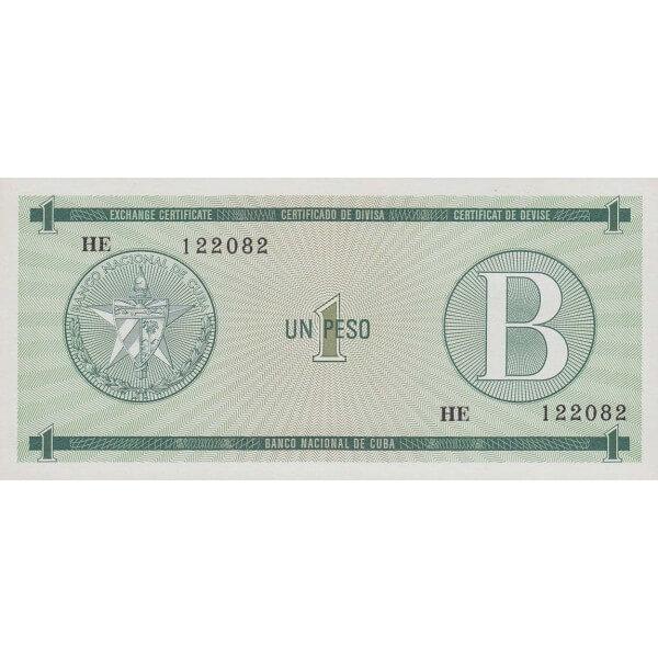 1985 - Cuba P-FX6 billete de 1 Peso
