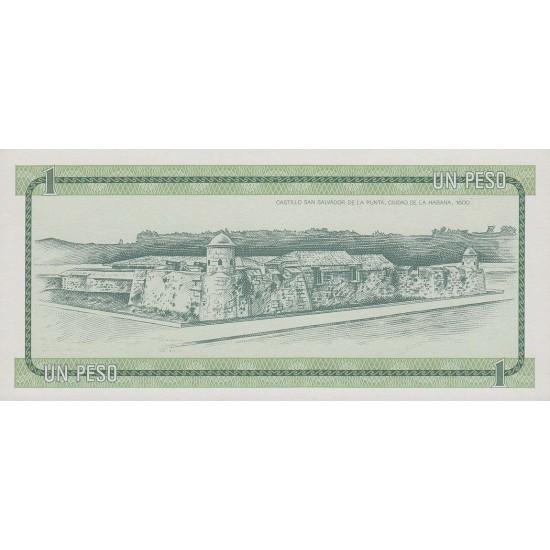 1985 - Cuba P-FX6 1 Peso banknote