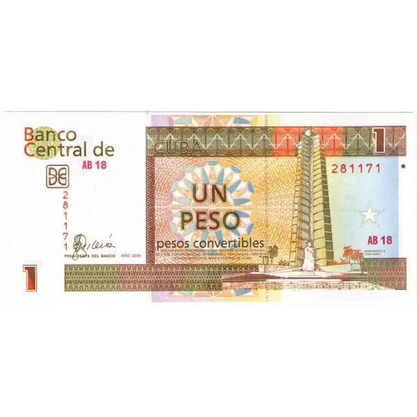 2006 - Cuba P-FX46 billete de 1 Peso