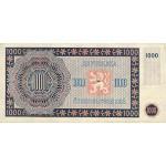 1945 -  Czechoslovakia Pic 74     1000 Korun  banknote