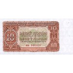 1953 -  Czechoslovakia Pic 83    10 Korun  banknote