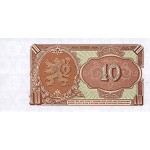 1953 -  Czechoslovakia  Pic 83b     10 Korun banknote