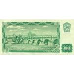 1961 -  Czechoslovakia Pic 91           100 Korun banknote