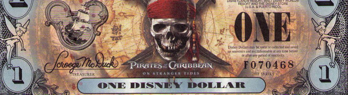Disney banknotes
