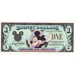 1994 - Disney United States 1 Dollar banknote