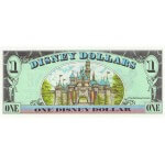 1998 - Disney Estados Unidos billete de 1 Dólar
