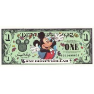 2000 - Disney  United States 1 Dollar banknote