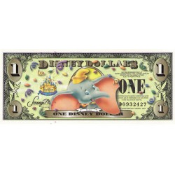 2005 - Disney United States 1 Dollar banknote